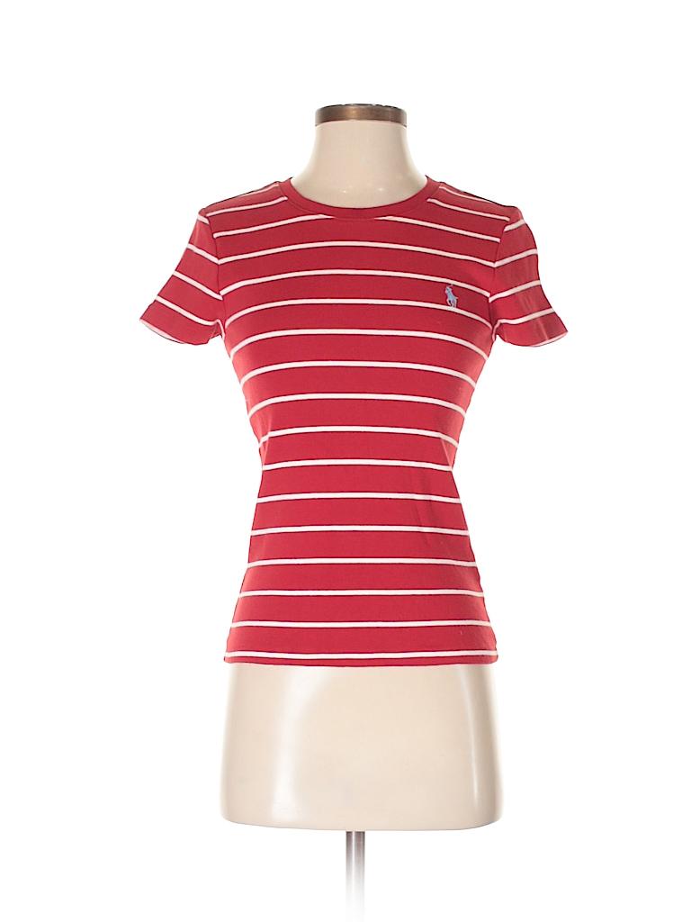 Ralph Lauren Sport Women Short Sleeve T-Shirt Size M