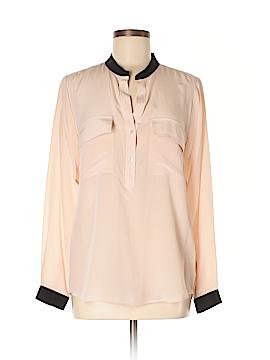 Vince. Long Sleeve Silk Top Size 6