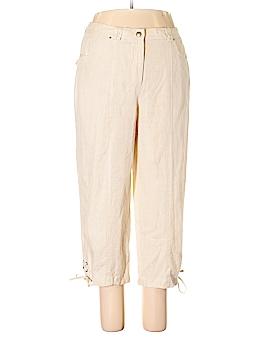 JM Collection Linen Pants Size 14