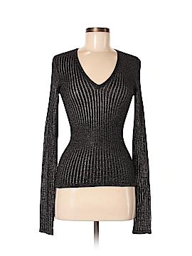 Philippe Adec Paris Silk Pullover Sweater Size M