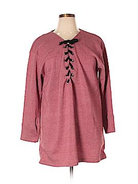 Derek Heart Pullover Sweater Size 3X (Plus)