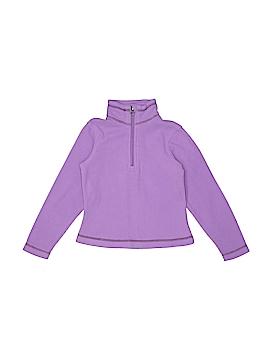 Red Lands Junior Design Fleece Jacket Size 4