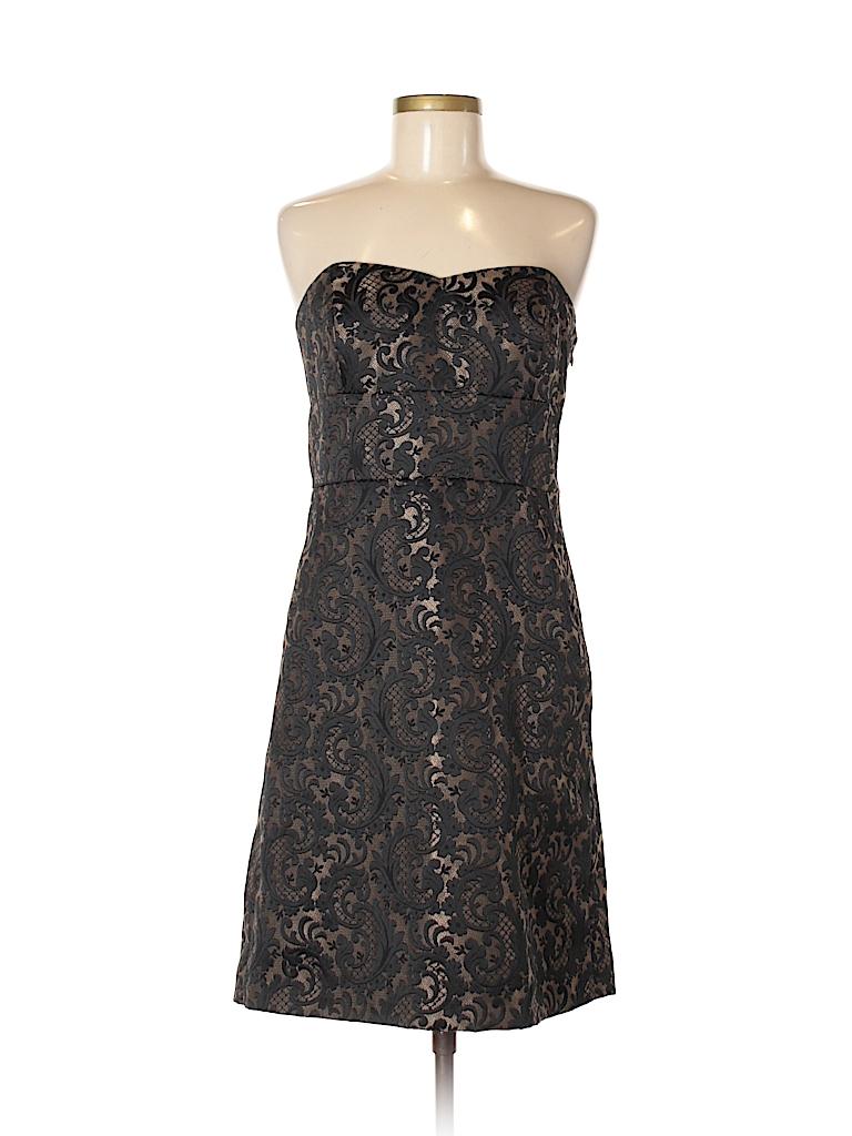 Ann Taylor LOFT Print Black Cocktail Dress Size 8 - 74% off | thredUP