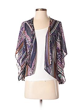 Black Poppy Kimono Size XS