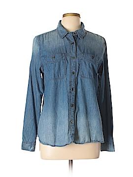 DressBarn Long Sleeve Button-Down Shirt Size L