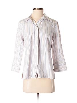 Autograph Long Sleeve Button-Down Shirt Size S