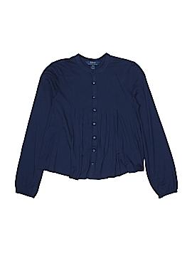 Polo by Ralph Lauren Long Sleeve Button-Down Shirt Size 12 - 14