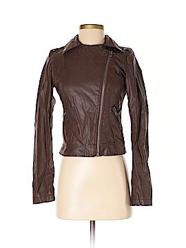 Celebrity Pink Faux Leather Jacket Size XS