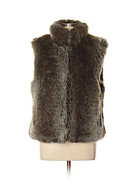 Blassport Faux Fur Vest Size L