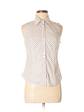 Tommy Hilfiger Sleeveless Button-Down Shirt Size 4