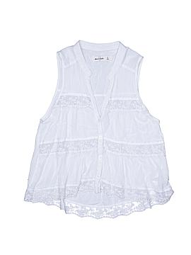 Abercrombie Sleeveless Blouse Size X-Large (Kids)