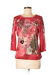 Cactus Women 3/4 Sleeve T-Shirt Size S