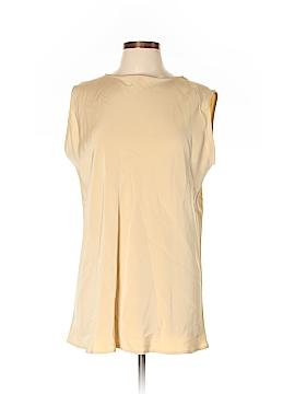 Shamask Sleeveless Silk Top Size Lg (2)