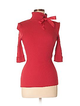 Bebe Silk Pullover Sweater Size L