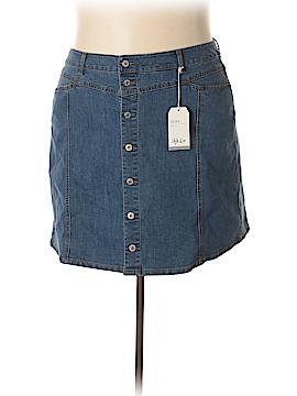 Style&Co Denim Skirt Size 22 (Plus)