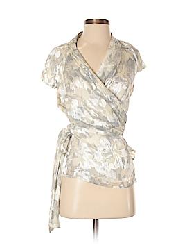 Jones New York Collection Short Sleeve Blouse Size 8 (Petite)