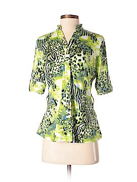 Essentials Short Sleeve Button-Down Shirt Size S