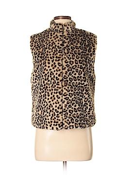 Preston & York Faux Fur Vest Size S