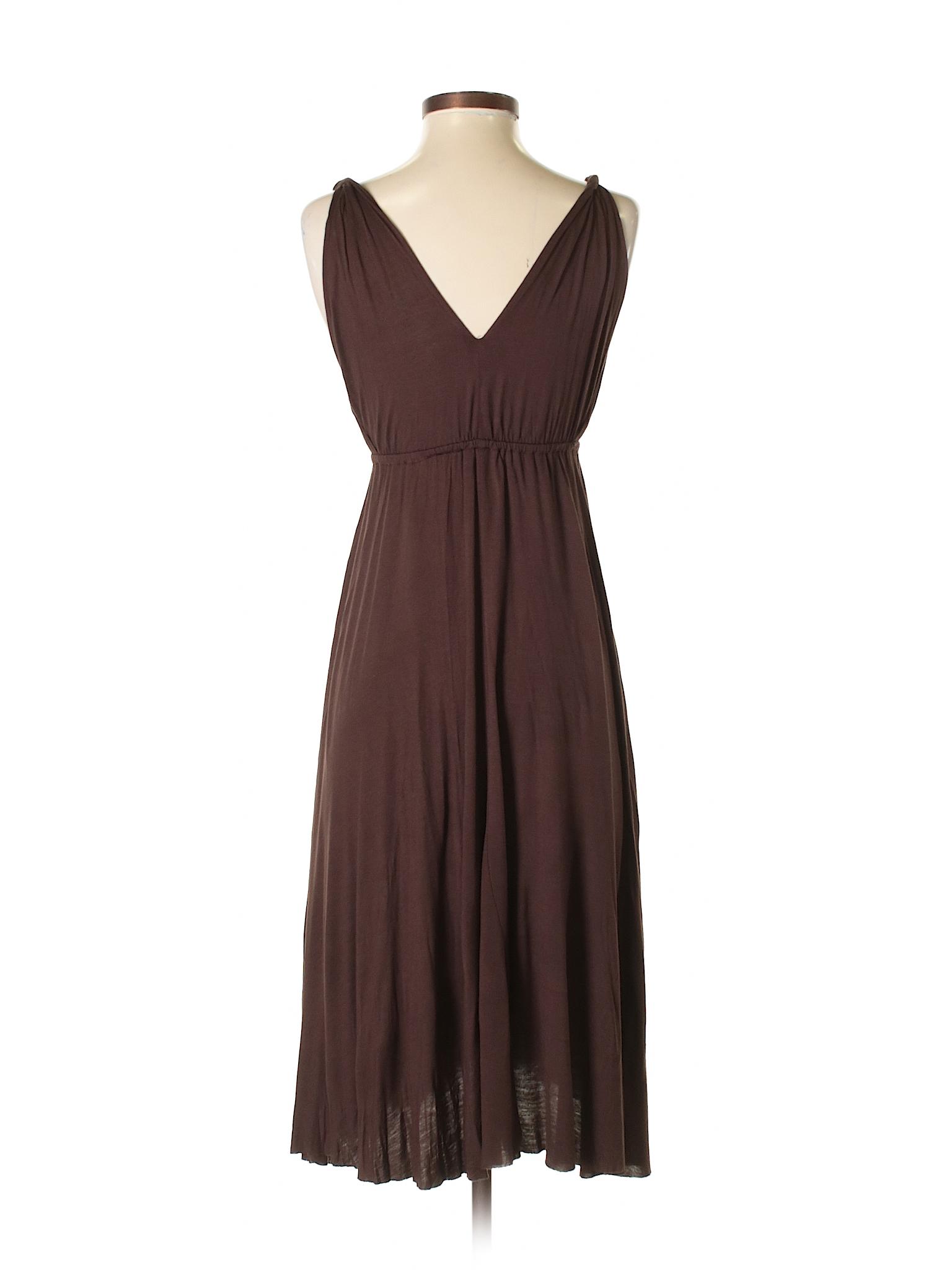 3d6a0ea25aff Maje 100% Viscose Solid Brown Casual Dress Size XS Tall (0) (Tall) - 99%  off   thredUP