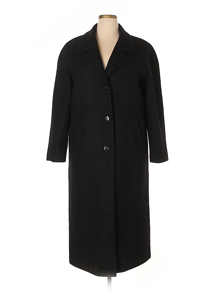 cfd96c510d0 Worthington Solid Black Coat Size 18 (Plus) - 64% off