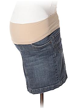 Indigo Blue Denim Skirt Size XS (Maternity)