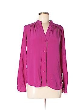 Diane von Furstenberg Long Sleeve Blouse Size 8