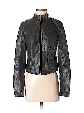 Neu Look Leather Jacket Size M