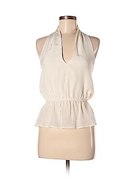 Aaron Ashe Sleeveless Silk Top Size XS