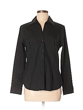 Jones New York Collection Long Sleeve Button-Down Shirt Size 8