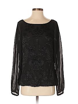 White House Black Market Long Sleeve Blouse Size 8