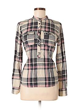 I Heart Ronson Long Sleeve Button-Down Shirt Size S