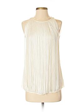 Theory Sleeveless Silk Top Size P (Tall)