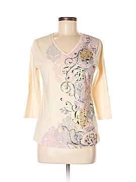 Nicole Miller 3/4 Sleeve Top Size M