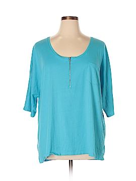 Lane Bryant Short Sleeve T-Shirt Size 26 (Plus)