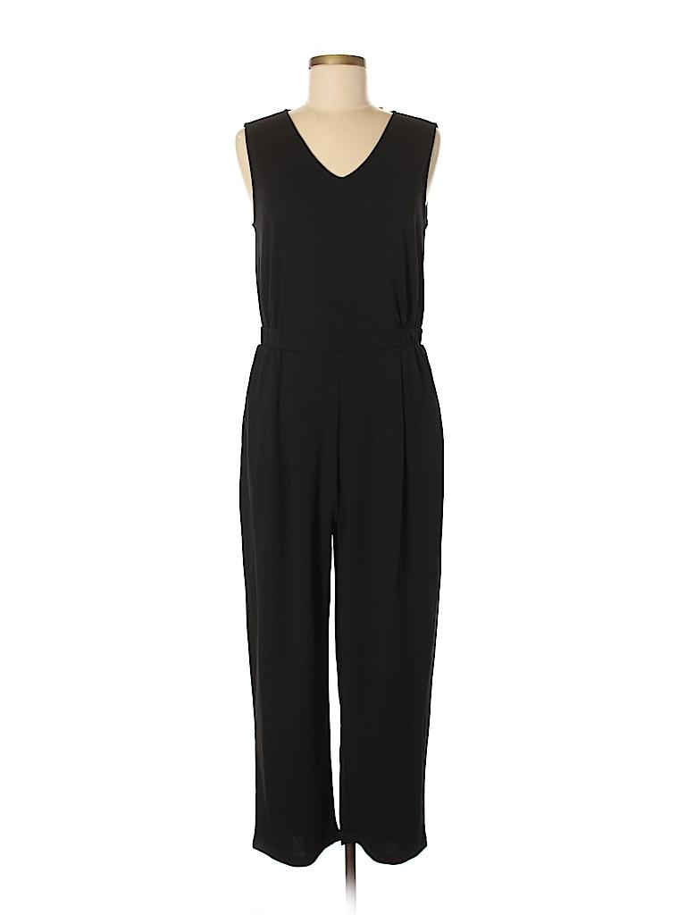 2d560c6dc08b Uniqlo Solid Black Jumpsuit Size M - 63% off