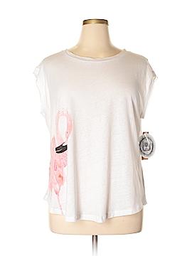 RACHEL Rachel Roy Sleeveless T-Shirt Size 0X (Plus)