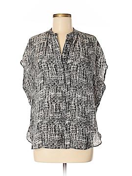 Vince. Short Sleeve Silk Top Size M
