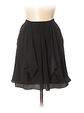 Black Saks Fifth Avenue Silk Skirt Size 2