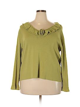 Sigrid Olsen Sport Pullover Sweater Size 2X (Plus)
