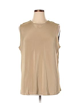 Shamask Sleeveless Silk Top Size XXL (4)