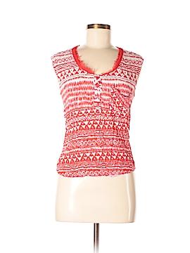 Zinga Short Sleeve Blouse Size M