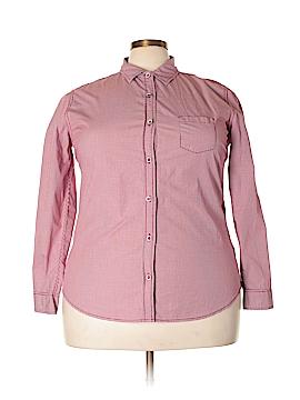 Weatherproof Long Sleeve Button-Down Shirt Size XXL