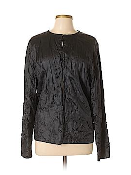 Eileen Fisher Silk Cardigan Size 1X (Plus)