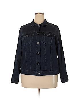 Lands' End Denim Jacket Size 1X (Plus)