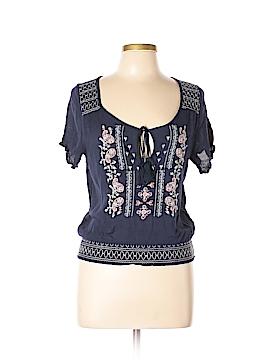 Love Culture Short Sleeve Blouse Size M