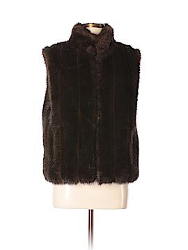 Giacca Faux Fur Vest Size M