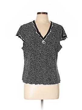 Linea Donatella Short Sleeve Top Size L