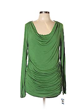 INC International Concepts Long Sleeve Top Size XL