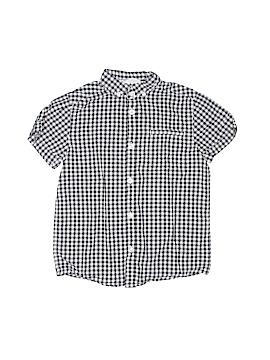 H&M Short Sleeve Button-Down Shirt Size 6 - 7