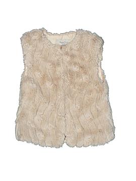 Mayoral Faux Fur Vest Size 3